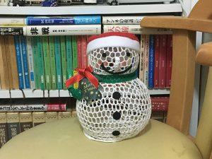 教室アルファ2019年のクリスマス雪だるま